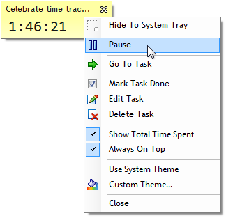 Time Tracking Task