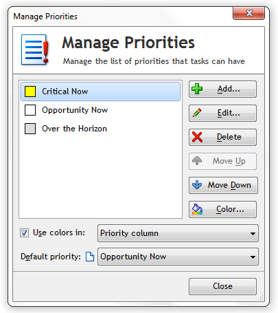 One Minute To-Do List Priorities