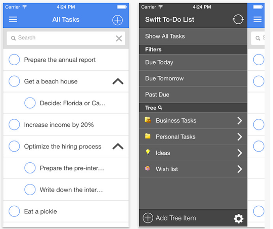 Swift To-Do List for iPhone